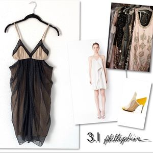 3.1 Philip Lim silk cut out Dress SZ 0